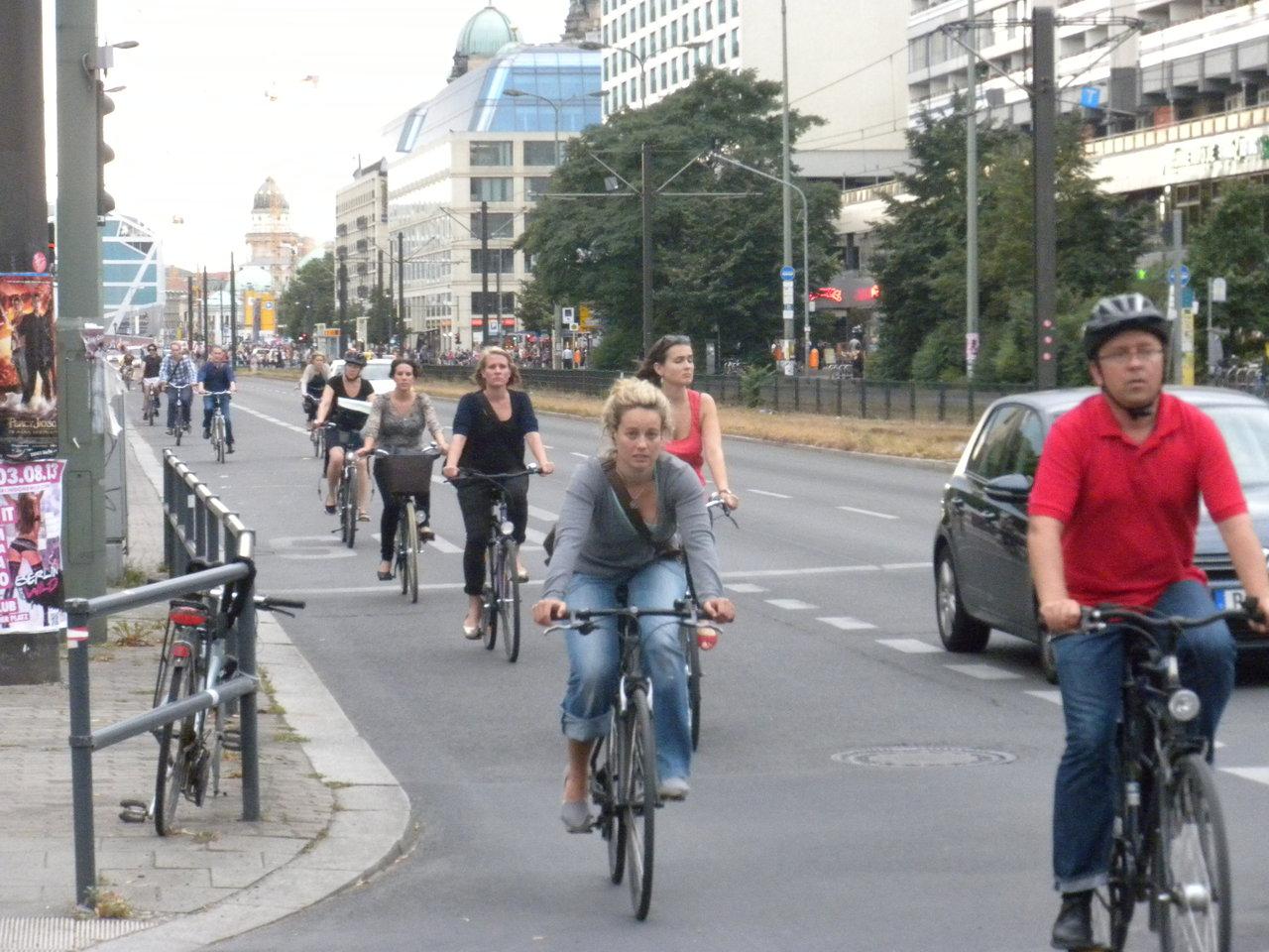 Bussikaista Berliinissä